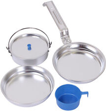 Aluminum Military Style 5 Piece Mess Kit
