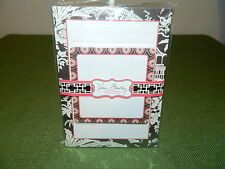 "VERA BRADLEY ""IMPERIAL TOILE"" NOTEPAD & STICKY NOTES RETIRED RARE NEW"