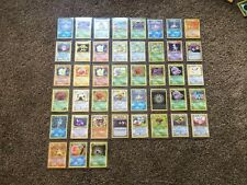POKEMON CARDS 20 MINT Lot (all cards from Base Set through BreakThrough)