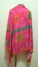CULT VINTAGE '80 Pareo Scialle Stola Unisex Woman Jersey Shawl Stole