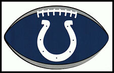 INDIANAPOLIS COLTS OVAL FOOTBALL NFL LICENSED TEAM LOGO INDOOR DECAL STICKER
