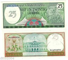 Suriname  SURINAM Billet 25 GULDEN 1985 P127 UNC NEUF