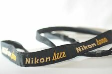 Nikon 4000 AN-4000 black Classic Camera Shoulder strap for FM2N FE2 FA or DSLR