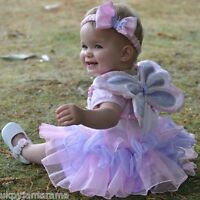 Girls Toddler Baby Fairy Princess Fancy Dress Up Costume Outfit