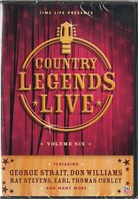 Time Life Country Legends Live 6 DVD George Strait