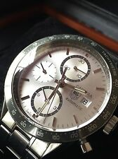 Tag Heuer CARRERA CV-2011, AUTOMATIC CHRONOGRAPH Beautiful w/BOX and MANUAL!!!!!