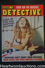 """Code 5 Detective"" April 1974 Wild Cover"