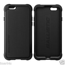 Genuine BALLISTIC Tough Jacket Case Apple iPhone 6 6s Black Christmas Gift