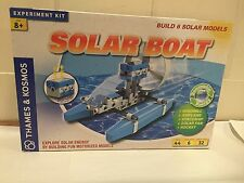 Renewable Energy-Science Experiment Kit-SOLAR BOAT Thames & Cosmos 6 Experiments