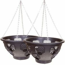 BOGOF 15 LARGE EASY FILL HANGING Basket PACK OF 2 BASKETS FLOWER DECORATION YARD