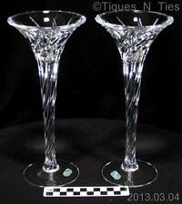 Wonderful Cristal d'Arques J.G. Durand France Candle Holders Candlesticks (FF)