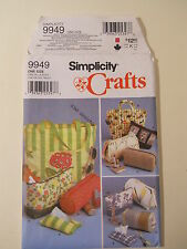 Simplicity 9949 Sewing Pattern Tote Bags,Purse, Tissue Covers