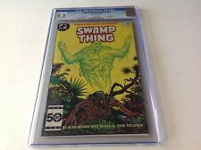 SAGA OF THE SWAMP THING 37 CGC 9.2 WHITE PAGES 1ST JOHN CONSTANTINE HELLBLAZER A