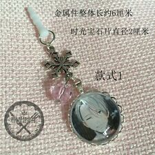 YURI on ICE Victor Nikiforov Cute Pendant Hang Dust Plug Key Buckle #A