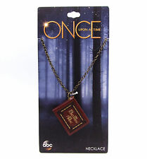 Disney ABC Once Upon A Time HENRY'S BOOK PENDANT NECKLACE With Pages OUAT