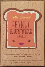new Too Faced PEANUT BUTTER & JELLY eye shadow Palette + Glamour Guide
