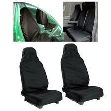 Universal 2pcs car Waterproof Nylon Front Seat Covers Protectors Durable