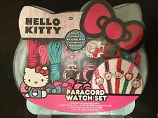 Hello Kitty 5 in 1 Make Your Own Watch Set Paracord Brand Sanrio FREE SHIPPING
