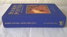 Harry Potter Goblet of Fire DELUXE FIRST EDITION 3rd PRINT book Bloomsbury 1/3