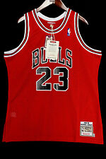 100% Authentic Michael Jordan Mitchell Ness 88 89 The Shot Bulls Jersey 52 2XL *