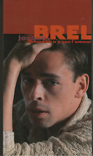 **   Jacques BREL  -  Quand on a que l'amour (CD)  - Coffret  3 CD + Livret   **