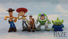 Set of 5pc TOY STORY 3 BUZZ LIGHTYEAR WOODY Figures SET