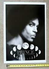 SCARCE Prince Piano & Microphone B&W tour concert poster !
