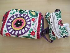 VERA BRADLEY VIVA LA VERA VIVID COLORS    EARPHONE EARPOD  HOLDER  PERFECT GIFT