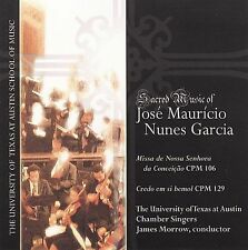 Morrow, James-Sacred Music Of Jose Mauricio CD NEW