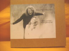 MAXI Single CD ROBERT PLANT ALISON KRAUSS Gone Gone Gone PROMO 1TR LED ZEPPELIN