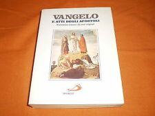 Vangelo e atti degli apostoli nuovissima versione dai testi generali 1987 br. Cu