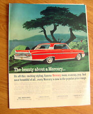 1961 Mercury Monterey Ad - The Beauty about a Mercury