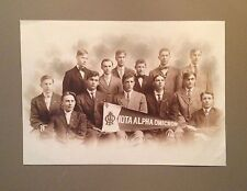 Large antique photograph - Iota Alpha Omicron fraternity