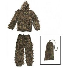 Ghillie feuilles camo sniper us taille XL/XXL chasse pêche photos Paint airsoft