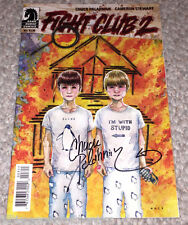 FIGHT CLUB 2 #3 COMIC BOOK SIGNED BY CHUCK PALAHNIUK AUTHOR w/COA DARK HORSE