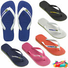 Havaianas Flip Flops Brasil Logo Top Unisex Summer Beach Sandals Thongs