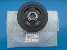 GENUINE TOYOTA COROLLA CRANKSHAFT PULLEY WITHOUT XRS 13470-0D010