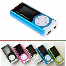 3 X LETTORE MP3 ESPANDIBILE SD 8 GB CON ALTOPARLANTE ESTERNO + RADIO FM E LED