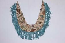 Womens Western Cowboy Boots Hats Print Rodeo Fringed Leather Shawl