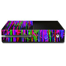 Skin Decal Wrap for Microsoft Xbox One Console sticker Drips