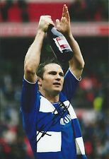FRANK LAMPARD - Hand Signed 12x8 Picture/Photo - Chelsea England Football