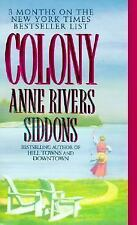 G, Colony, Anne Rivers Siddons, 0061099708, Book