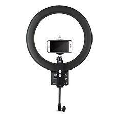 NanGuang CN-R640 Video Studio LED Ring Light + Bracket + Phone Holder +Ball head