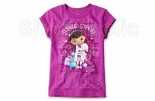 SFK Disney Doc McStuffins Graphic Tee - Girls Purple