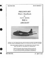 VOUGHT F6U PIRATE 1940's JET MANUAL F6U-1 RARE HISTORIC PERIOD ARCHIVE CD PERIOD
