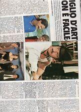 SP19 Clipping-Ritaglio 1989 Massimo Dapporto Figlio d'arte? non è facile