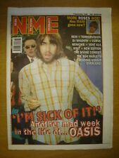 NME 1996 SEPTEMBER 7 OASIS STONE ROSES REM TERRORVISION CURVE