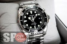 Seiko Kinetic Scuba Black Diver's 200m Watch SKA371P1
