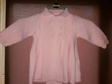 g montaner baby girls cardigan jacket 9 / 12 mths pink