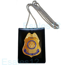 Collection US DS Security Special Agent Police Officer Badge ID Cards Holder 1:1